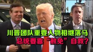 """川普团队人物相继落马 总统要靠""""赦免""""自救?"""