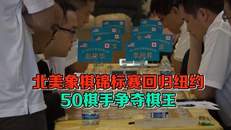第八届北美象棋锦标赛回归纽约  近50选手争夺棋王