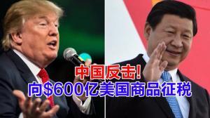 中国反击! 向$600亿美国商品征税