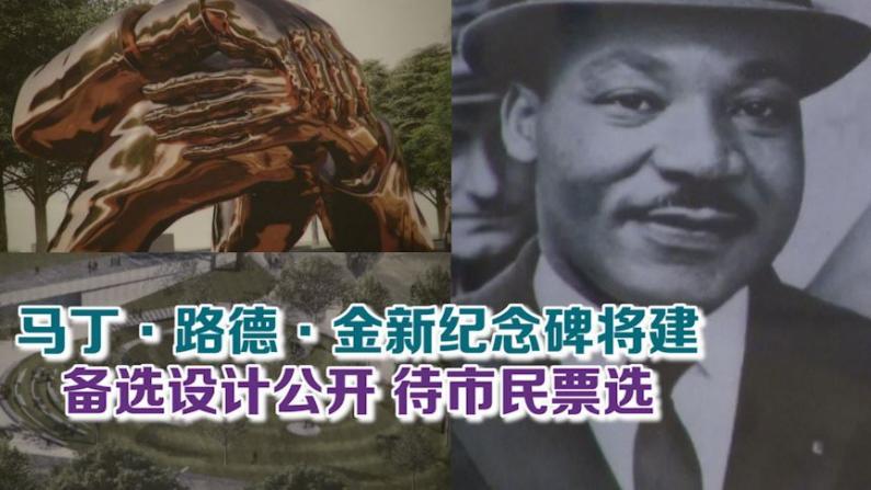 马丁·路德·金新纪念碑将建 备选设计公开待市民票选