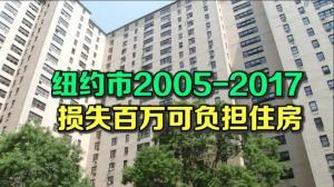 纽约市12年损失百万可负担住房 人口增房租涨无规制为主因