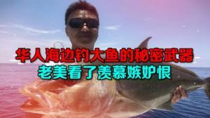 【高娓娓:娓娓道来】华人在海边成桶钓大鱼的秘密武器 老美看了羡慕嫉妒恨