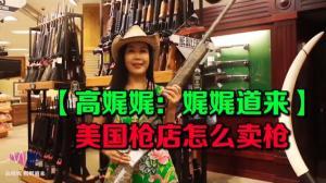 【高娓娓:娓娓道来】美国枪店怎么卖枪