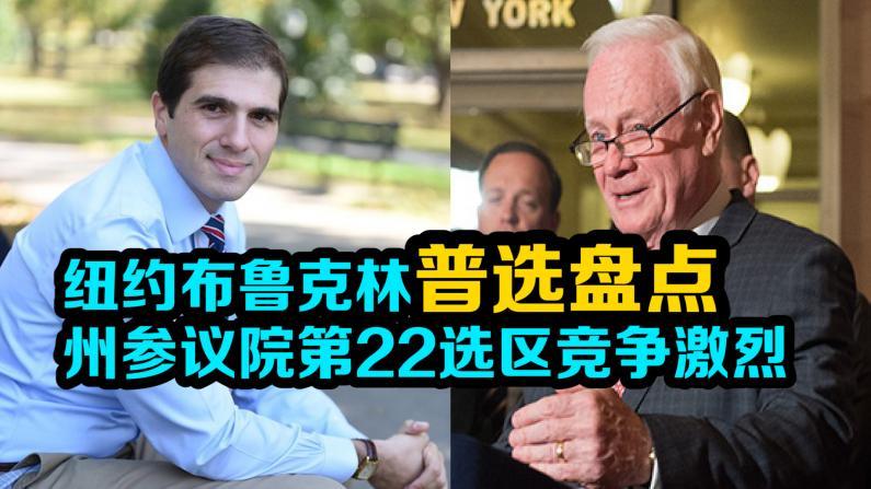 纽约布鲁克林普选盘点 州参议院第22选区竞争激烈