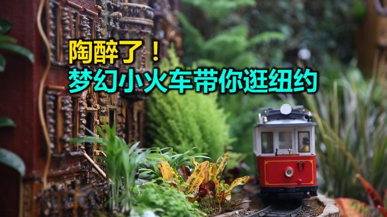 陶醉了! 梦幻小火车带你逛纽约