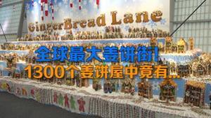 全球最大姜饼街! 1300个姜饼屋中竟有...