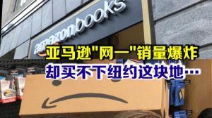 """亚马逊""""网一""""销售爆炸 却买不下纽约这块地…"""