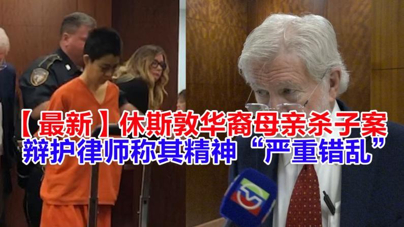 休斯敦华裔母亲杀子案 辩护律师申请精神鉴定