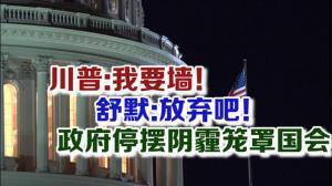 川普发最后警告 舒默誓不通过法案 政府停摆阴霾笼罩国会