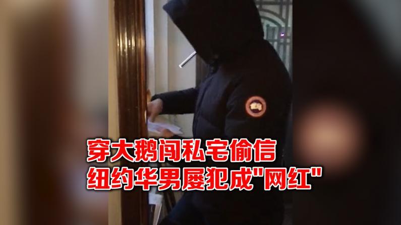 """纽约华男频繁偷信成""""网红"""" 屡次被捕却无人指控 警方无奈"""