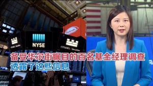 备受华尔街瞩目的基金经理调查透露了这些信息...