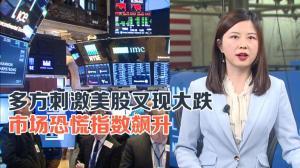 多方刺激美股又现大跌 市场恐慌指数飙升