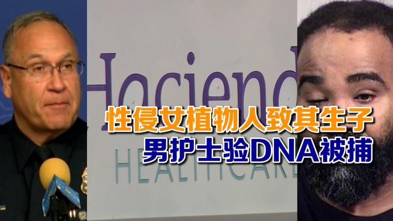 性侵女植物人致其生子 男护士验DNA被捕