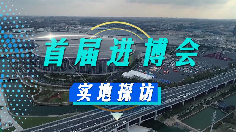 实地探访进博会 感受新时代中国的经济脉搏