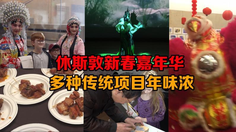 休斯敦新春嘉年华年味浓 各族裔共庆春节