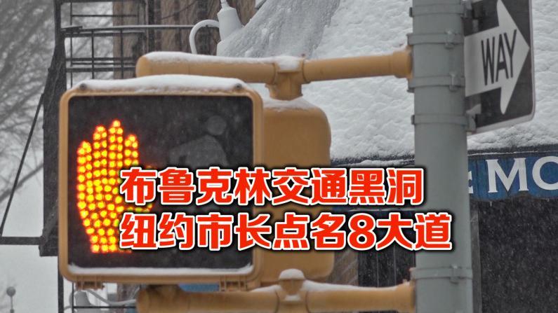 纽约强化行人安全 布鲁克林8大道事故多被点名