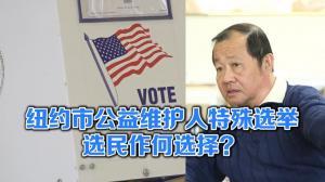 纽约市公益维护人特殊选举 选民们作何选择?