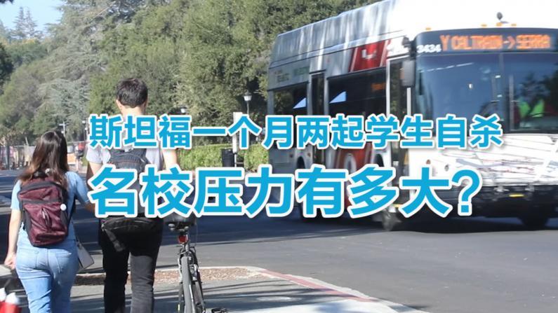 世界冠军校内自杀 斯坦福中国学生警醒:关注心理健康
