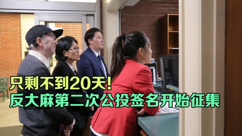第二次递交公投申请 南加华裔民众再抗争阻止大麻厂