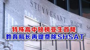 特殊高中放榜亚生首降 教育局长再提费除SHSAT