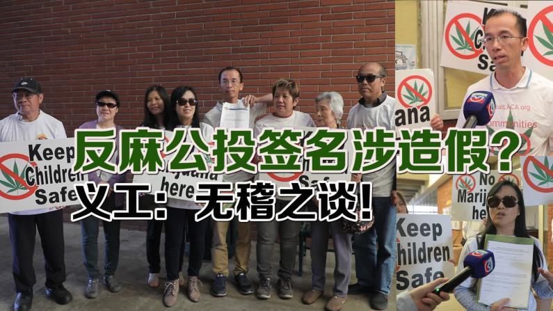 反大麻公投流产 华裔团体市府讨说法