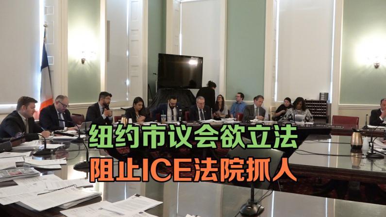 纽约市议会欲立法阻止ICE法院抓人
