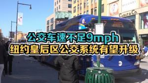 公交车速不足9mph 纽约皇后区公交系统有望升级