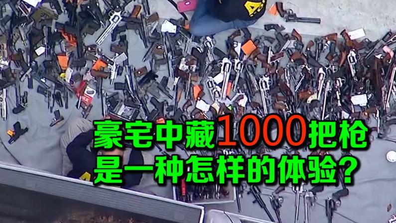 豪宅中藏1000把枪 是一种怎样的体验?