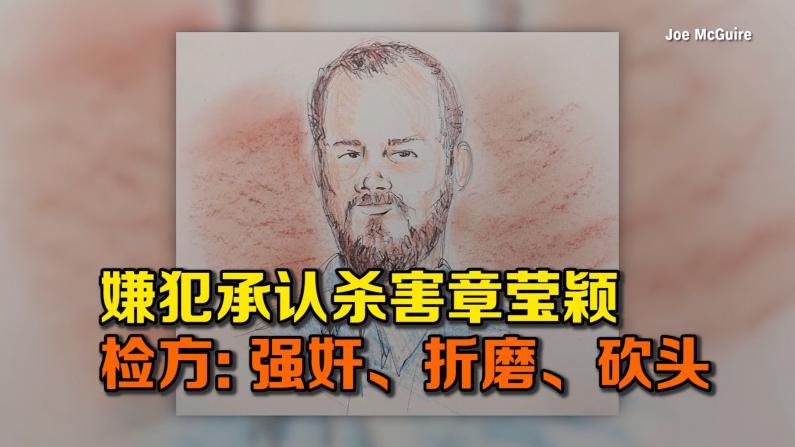 嫌犯承认杀害章莹颖 检方:强奸、折磨、砍头
