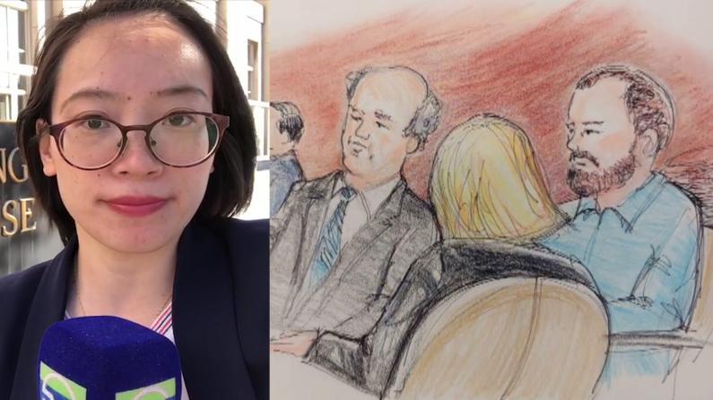 【现场直击】关键证据和证人 章莹颖案庭审第二天