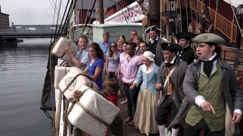 带你穿越回1773年 见证美国历史的开端