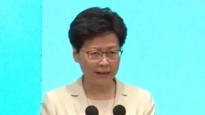 林郑月娥召开记者会 再次就修例处理方式道歉