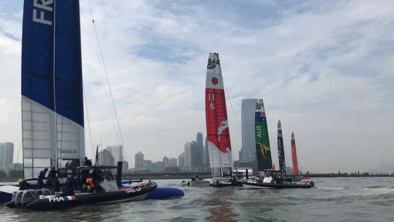 2019国际帆船大赛 6强国纽约争霸