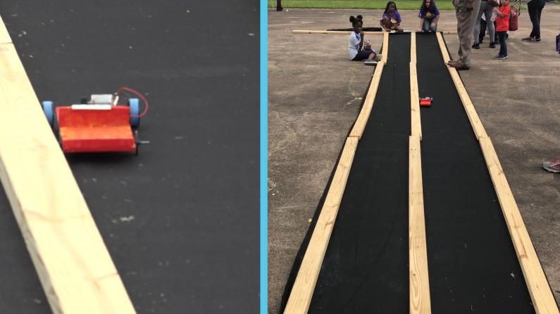 小学生DIY太阳能车模能跑多快?