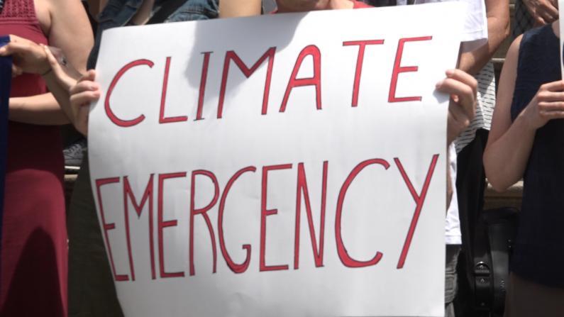 地球气候危机 环保人士: 不忍告诉孩子