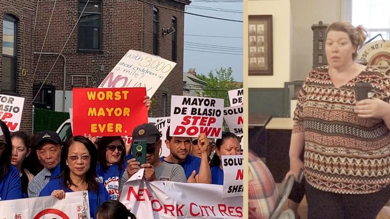 """与""""疯狂的市长""""开战? 纽约大学点诉市游民局"""
