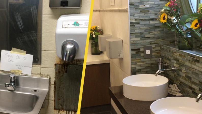 纽约最糟糕公厕vs最豪华公厕 差在哪?