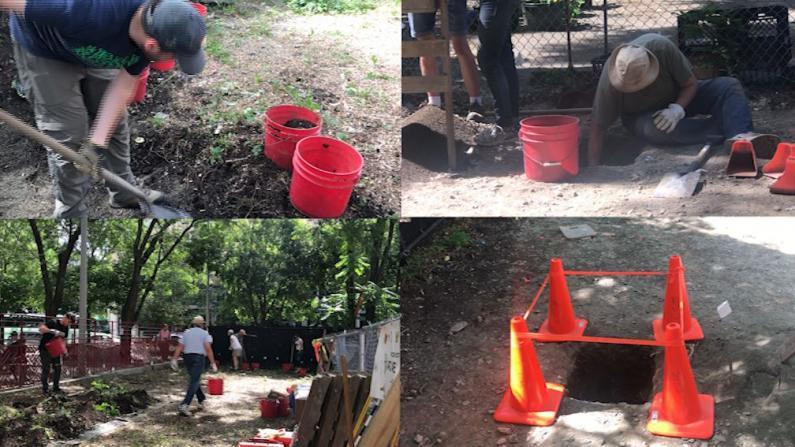 波士顿华埠暗藏玄机 首次考古就挖到宝