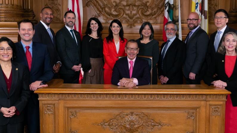 旧金山史上第三位华裔市议长 余鼎昂:当初没人认为我能胜选
