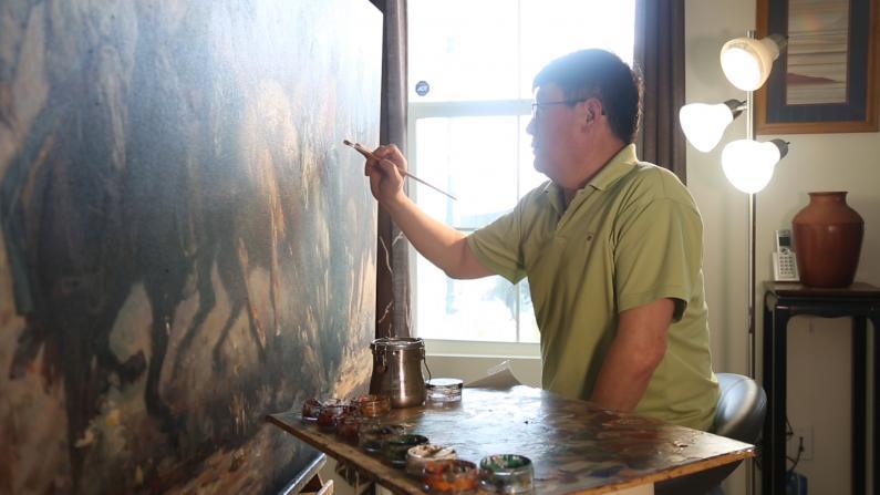 原汁原味!他将中国农村风貌带到洛杉矶艺术展