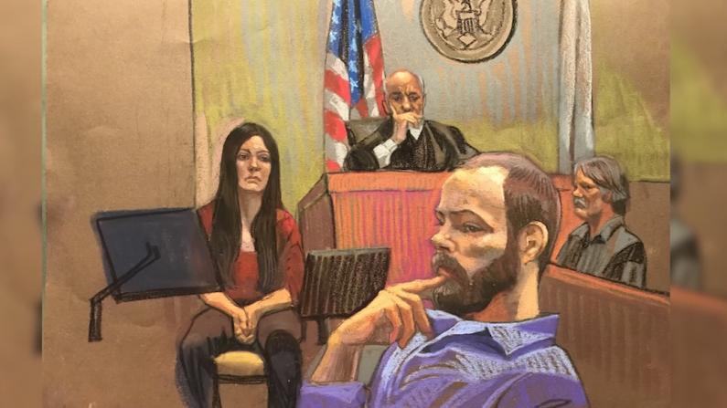 章莹颖案被告缺席庭审 前妻在法院传票下出庭