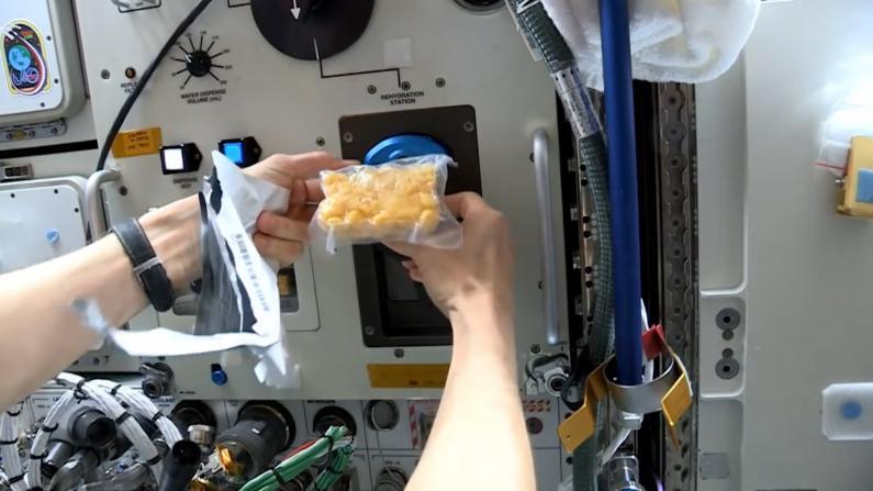 太空人在太空里吃什么?
