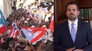 身陷言论丑闻被要求下台 波多黎各爆发最大抗议反总督