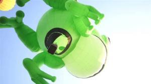 全美最大100只热气球新泽西腾空 咋着落呢?
