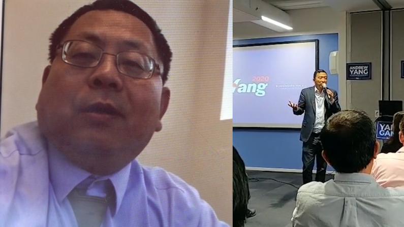 底特律一周筹款$27000 杨安泽支持者不仅是华裔
