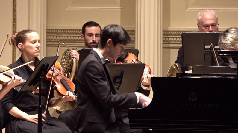 纽约环球音乐大赛 给孩子登台卡内基的机会