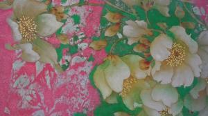 油画棒如何描绘工笔重彩 中国画家傅春梅纽约开展