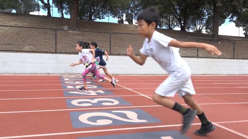 硅谷华人运动会 会敲代码也会狂奔