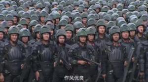 """武警公安联合,深圳再次""""大练兵"""""""