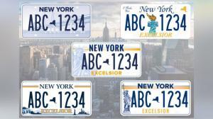 纽约州新车牌 你pick哪一个?
